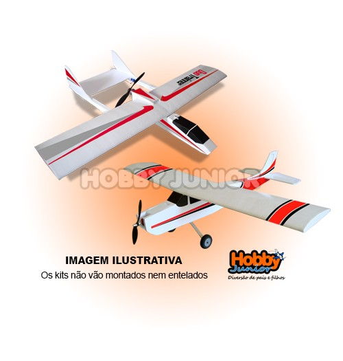 2 Aeromodelos - Kit para Montar -  Envio no Mesmo Frete