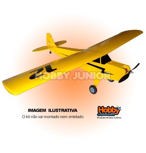 Aeromodelo Piper Cub - Kit para Montar