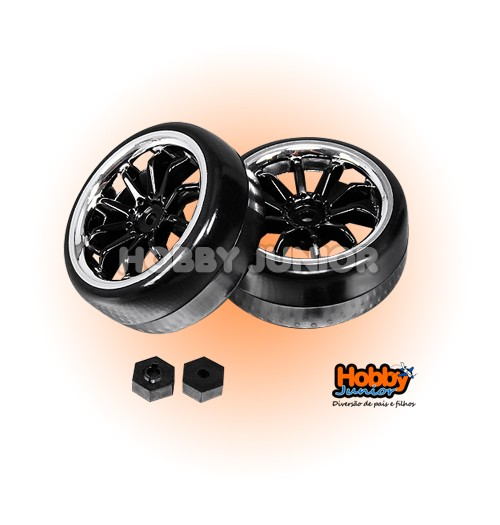 Roda (Unidade) 1/16 - Mini Rally Extreme Edition - Drift - Turnigy