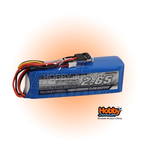 Bateria Lipo para Rádio Turnigy 9x- 2650 mAh 3S - Turnigy