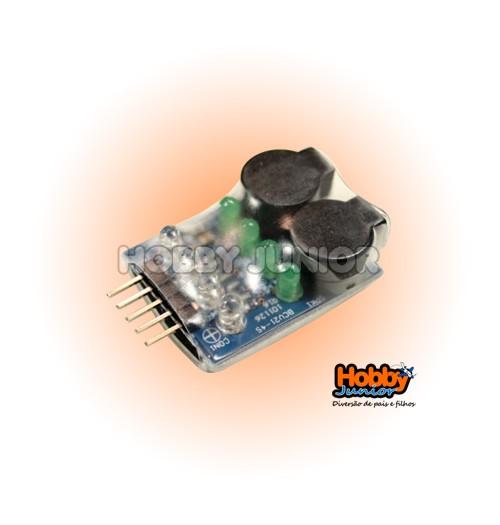 Alarme de Voltagem de Bateria Lipo - 2~4S