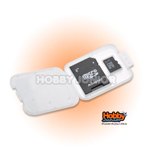 Cartão de Memória Micro SD 2GB com Adaptador