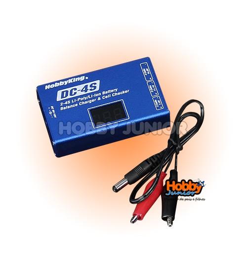 Carregador E Balanceador LiPO 2~4s - DC4s Digital