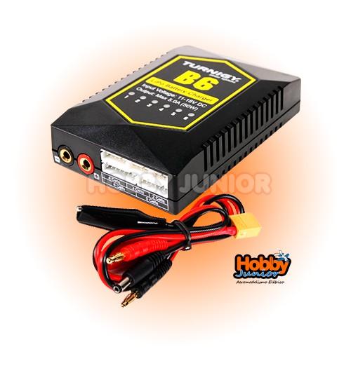Carregador e Balanceador de Baterias LiPO 2~6s - Turnigy B6
