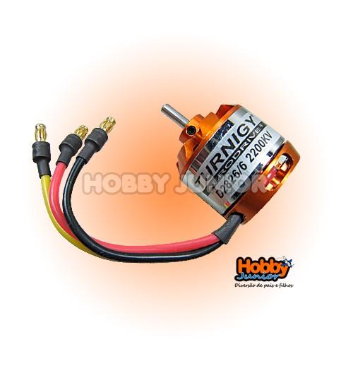 Motor Turnigy D2826/6 - 2200Kv.