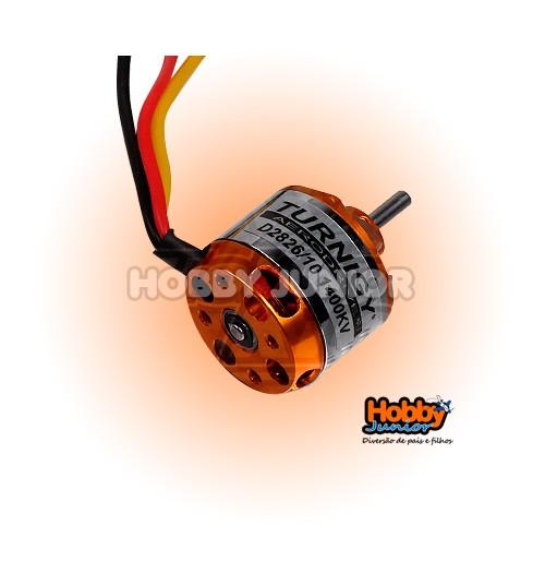 Motor Turnigy D2826/10 - 1400Kv.