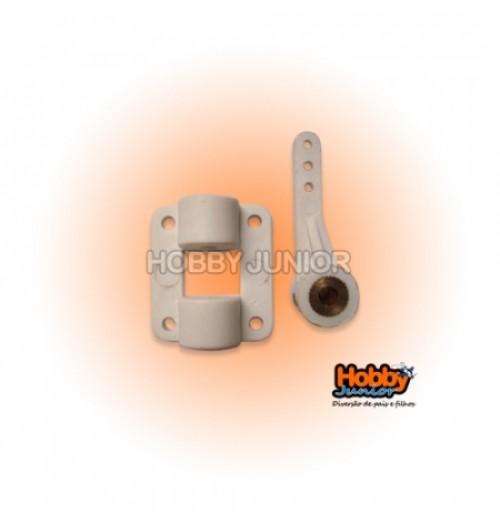 Suporte de Bequilha 4mm - Dianteira