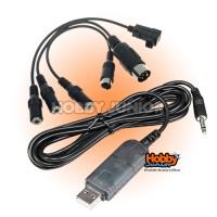 Cabo USB Simulador para Rádios - FMS 2.4ghz.